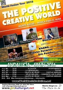 The Positive Creative World Andalucia Fusion Tour