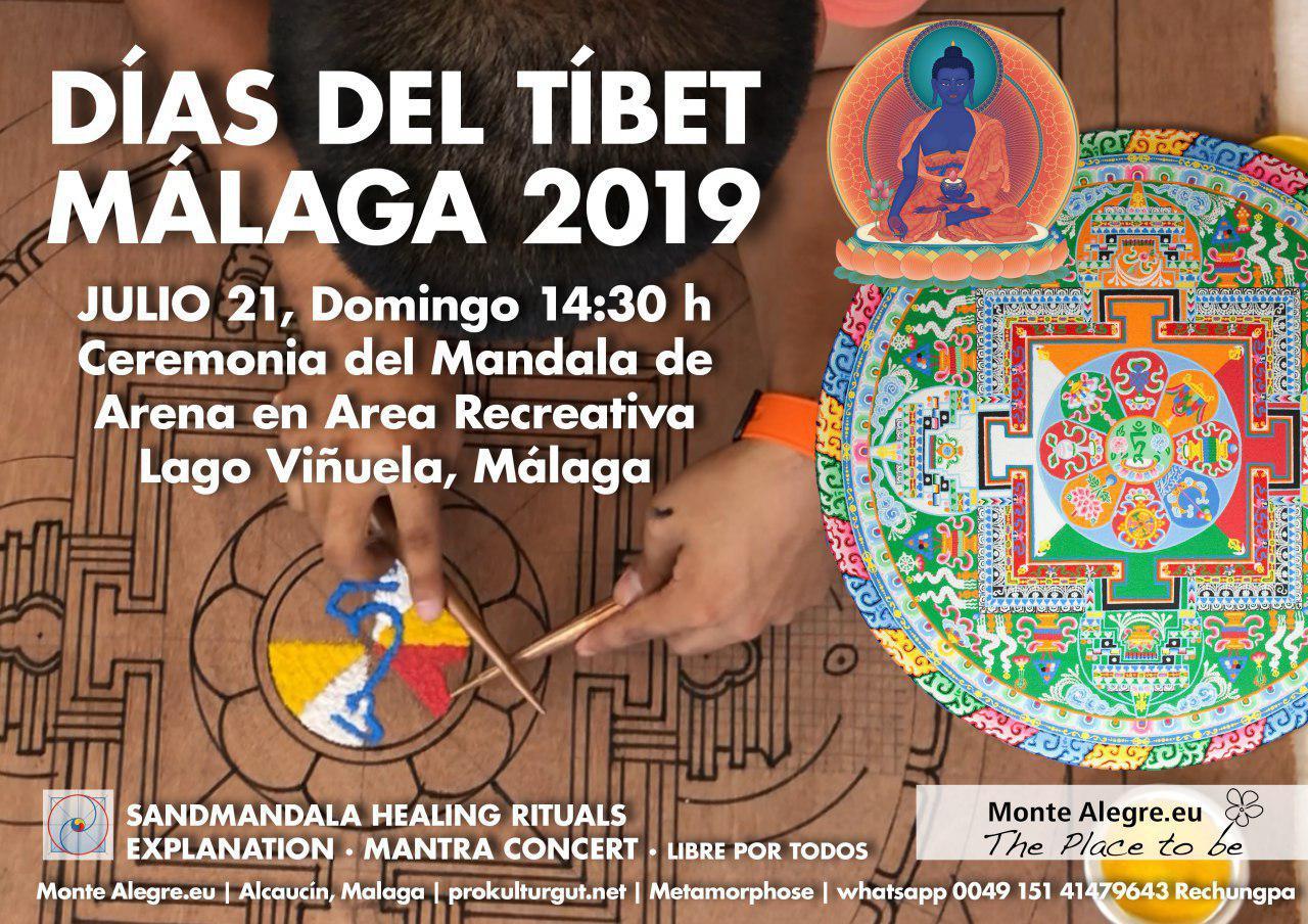 Días del Tíbet Málaga 2019 Julio 18-21