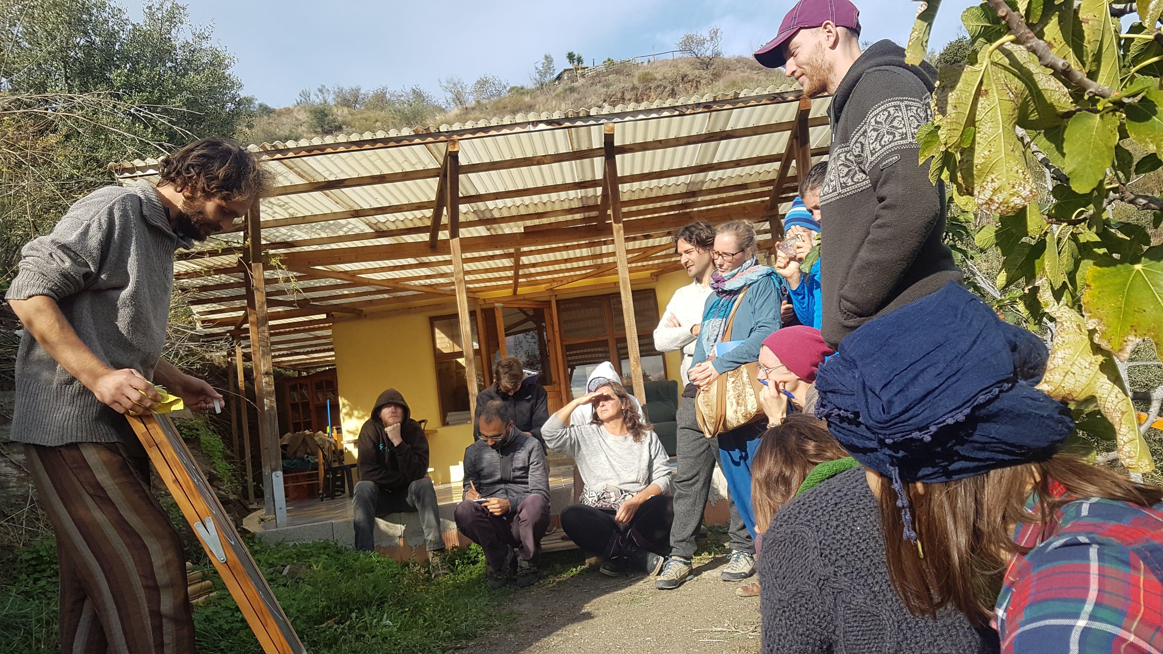 Nueva formación holística: Permacultura / Gestión de proyectos / Medios de comunicación