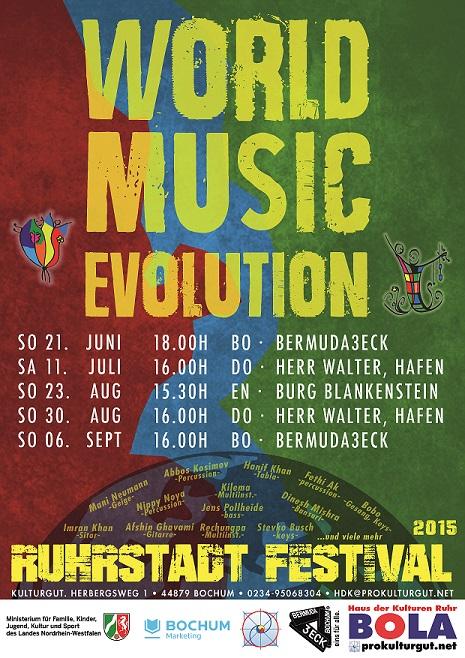 Ruhrstadt - Festival: Weltmusik-Fusion