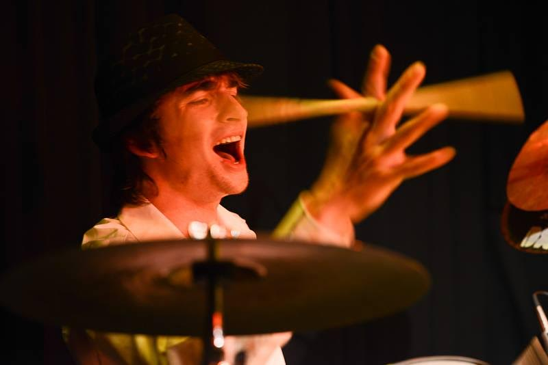 Schlagzeuger Martin Pauls