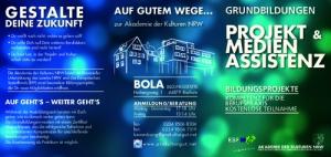 Grundbildung zur Medienassistenz @ BOLA Haus der Kulturen | Bochum | Nordrhein-Westfalen | Deutschland