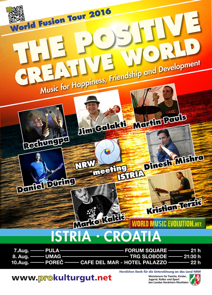 The Positive Creative World in Croatia