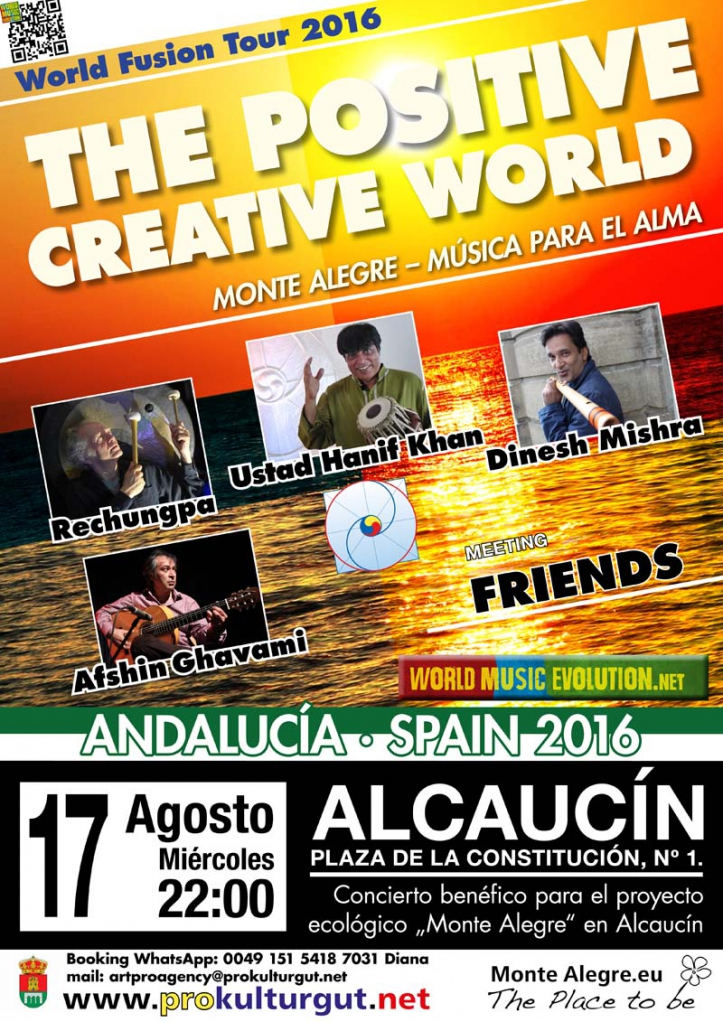 The Positive Creative World in Alcaucin