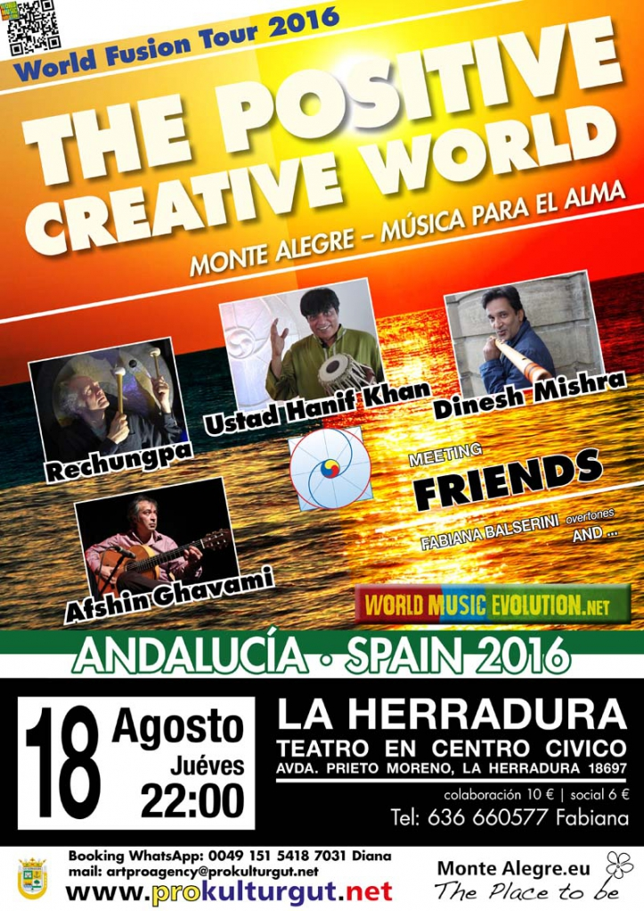 The Positive Creative World in La Herradura