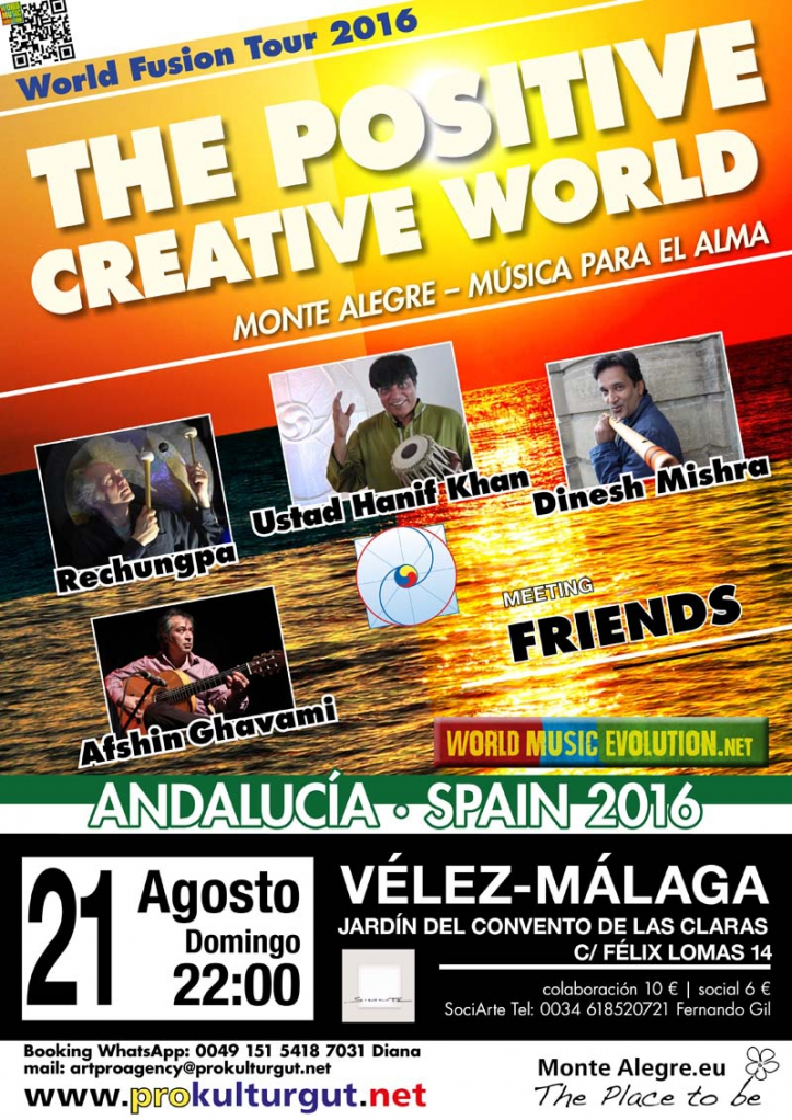 The Positive Creative World in Vélez-Málaga