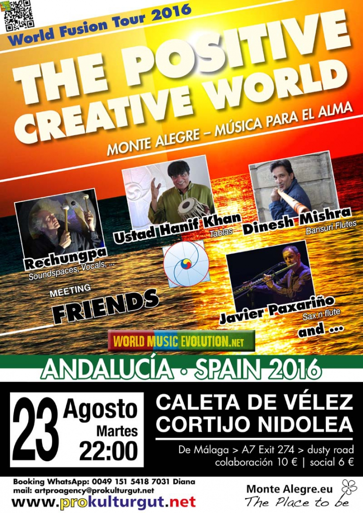 The Positive Creative World in Caleta de Vélez und Cortijo Nidolea