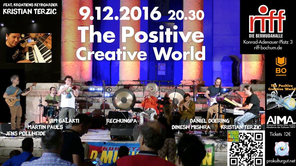 The Positive Creative World im riff