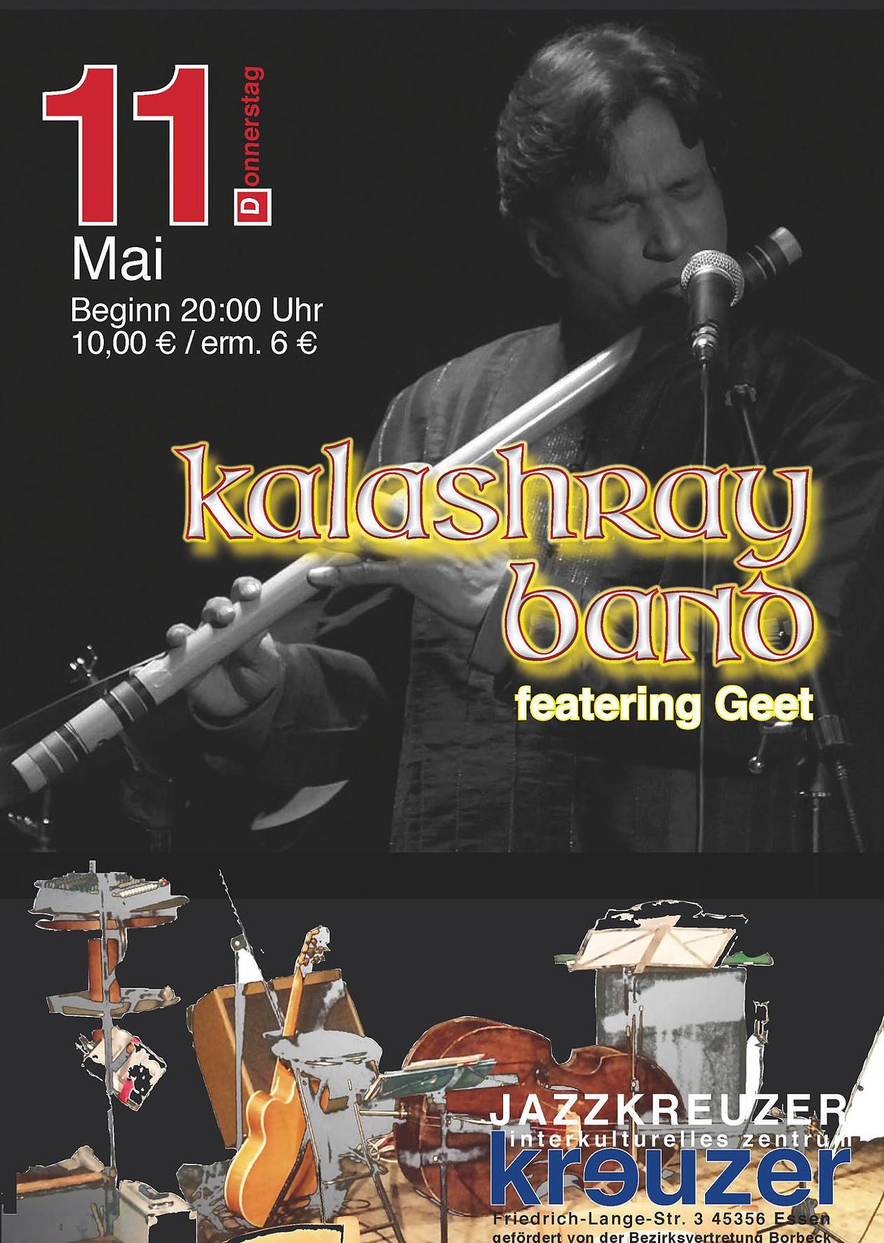 Kalashray Band featuring Geet Jazzkreuzer