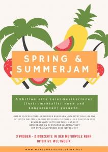 Spring & SummerJam