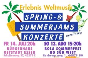 Spring & Summer Jam Konzerte Ruhr 2017