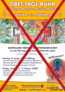 Tibet-Tage Ruhr Poster