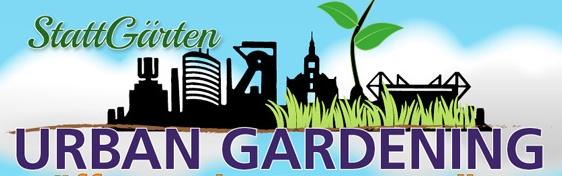 Plakat Urban Gardening Ausstellung