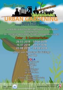 Urban Gardening Fortsetzungsflyer