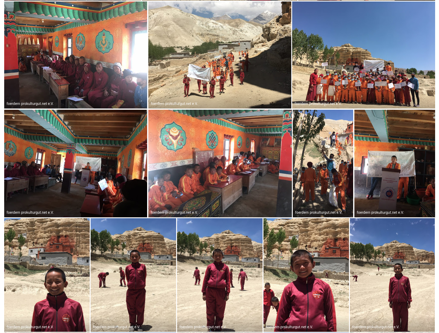 Impressionen aus dem Leben unserer Patenkinder in Nepal - LNNNF Foundation