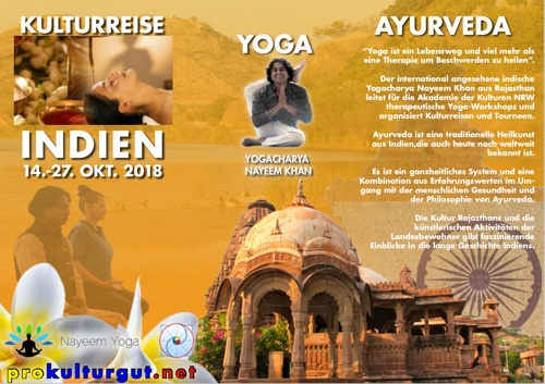 Kulturreise nach Indien