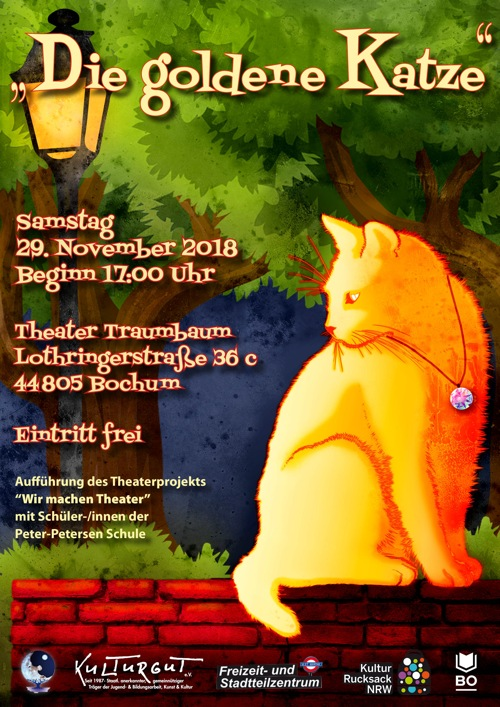 Kindertheater Die goldene Katze