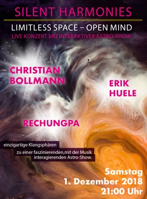 Silent Harmonies Konzert im Planetarium Bochum