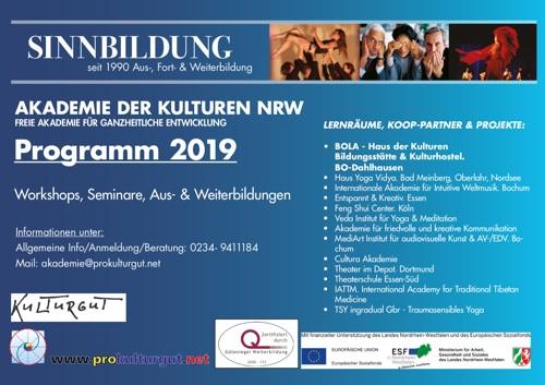 Akademie Programm 2018 Cover