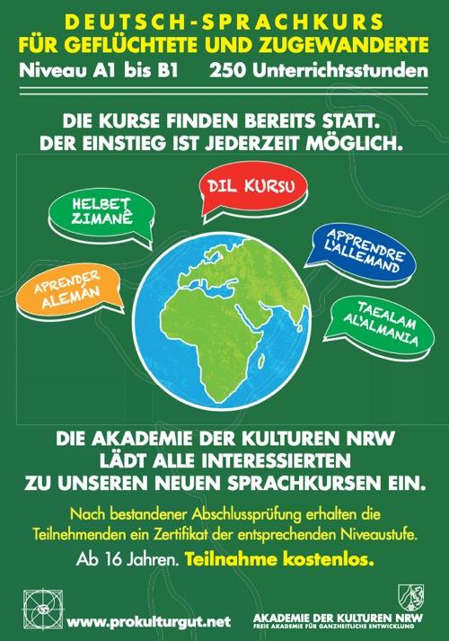 Deutsch-Sprachkurs Flyer
