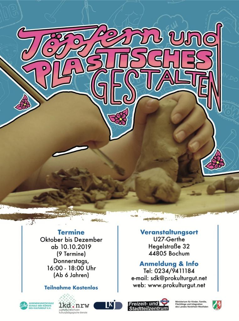 Töpfern und Plastisches Gestalten Workshop