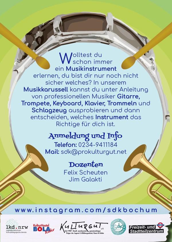 Musikkarussel Workshop