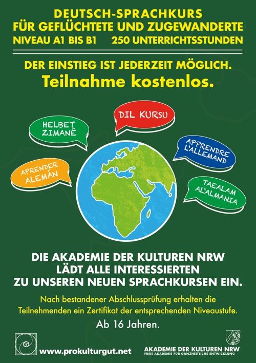 Sprachkurs Akademie der Kulturen