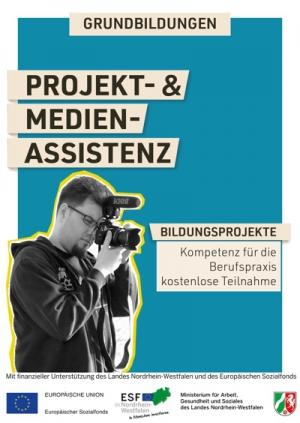 Grundbildungen Projektassistenz Social Media audiovisuelle Medien